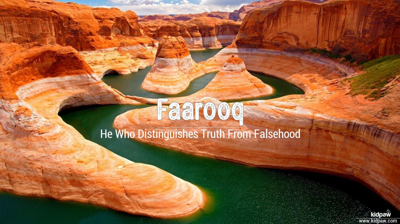 Faarooq beautiful wallper