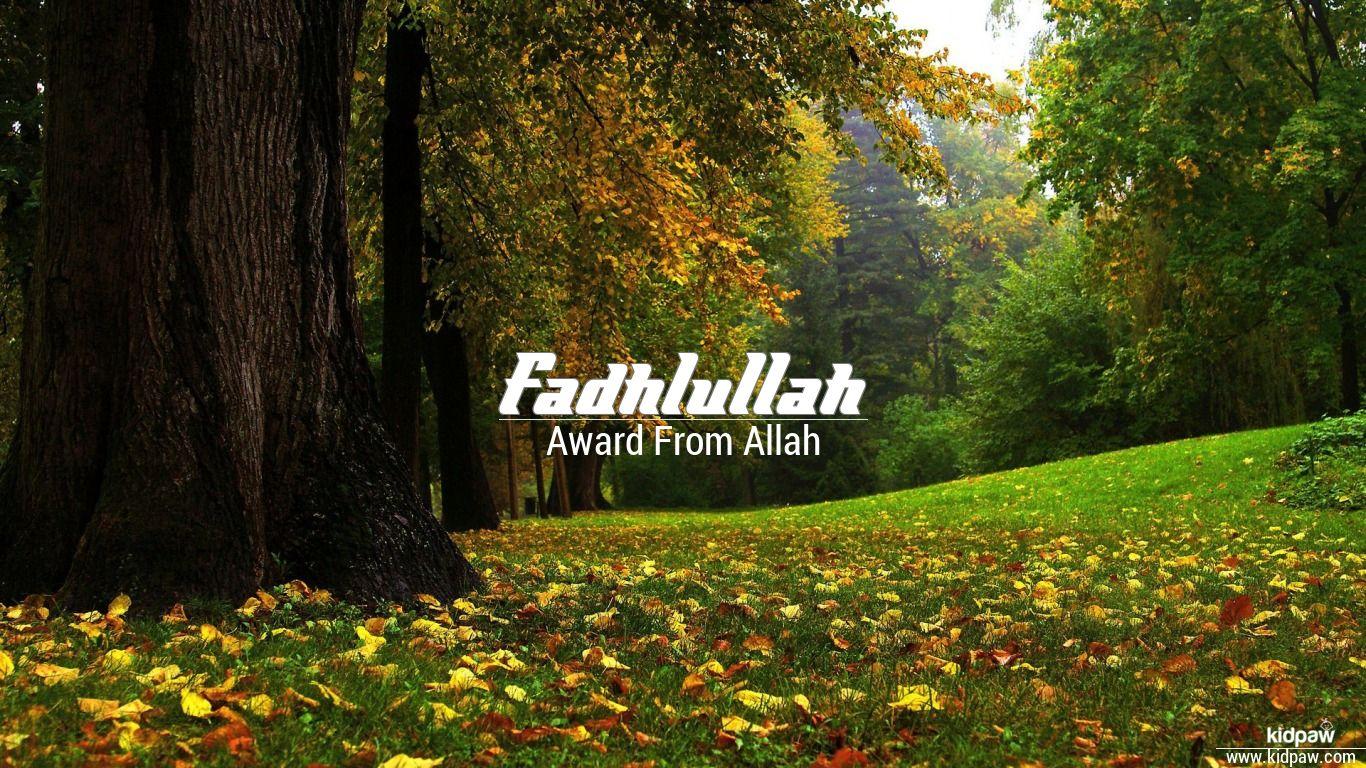 Fadhlullah beautiful wallper