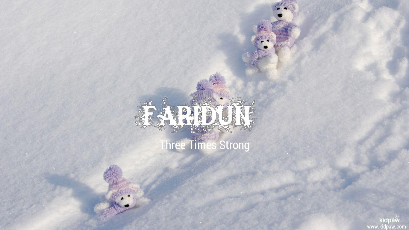 Faridun beautiful wallper