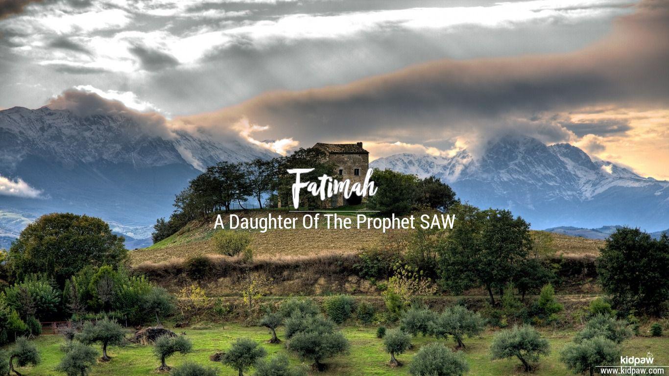 Fatimah beautiful wallper