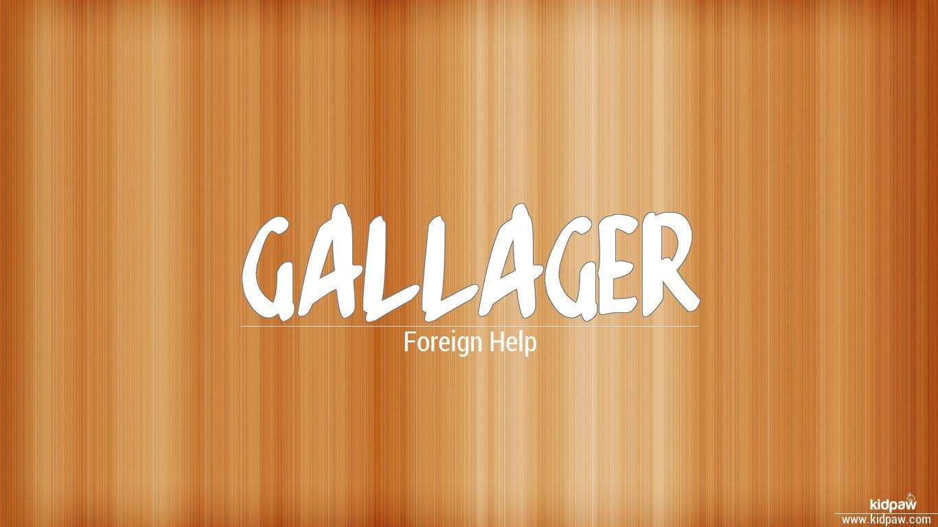 Gallager beautiful wallper