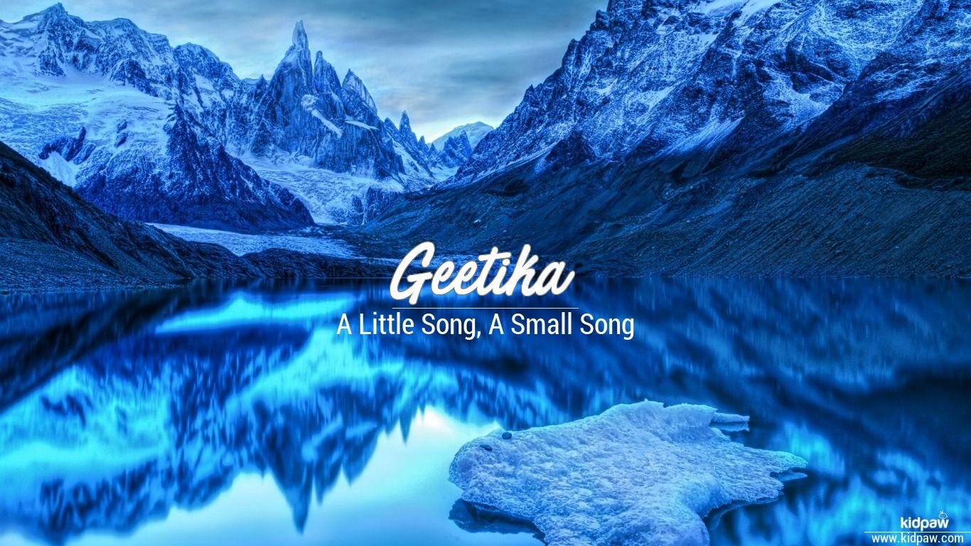 of name geetika