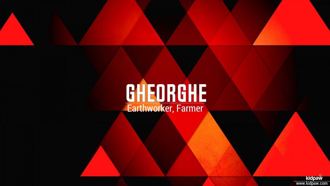 Gheorghe beautiful wallper