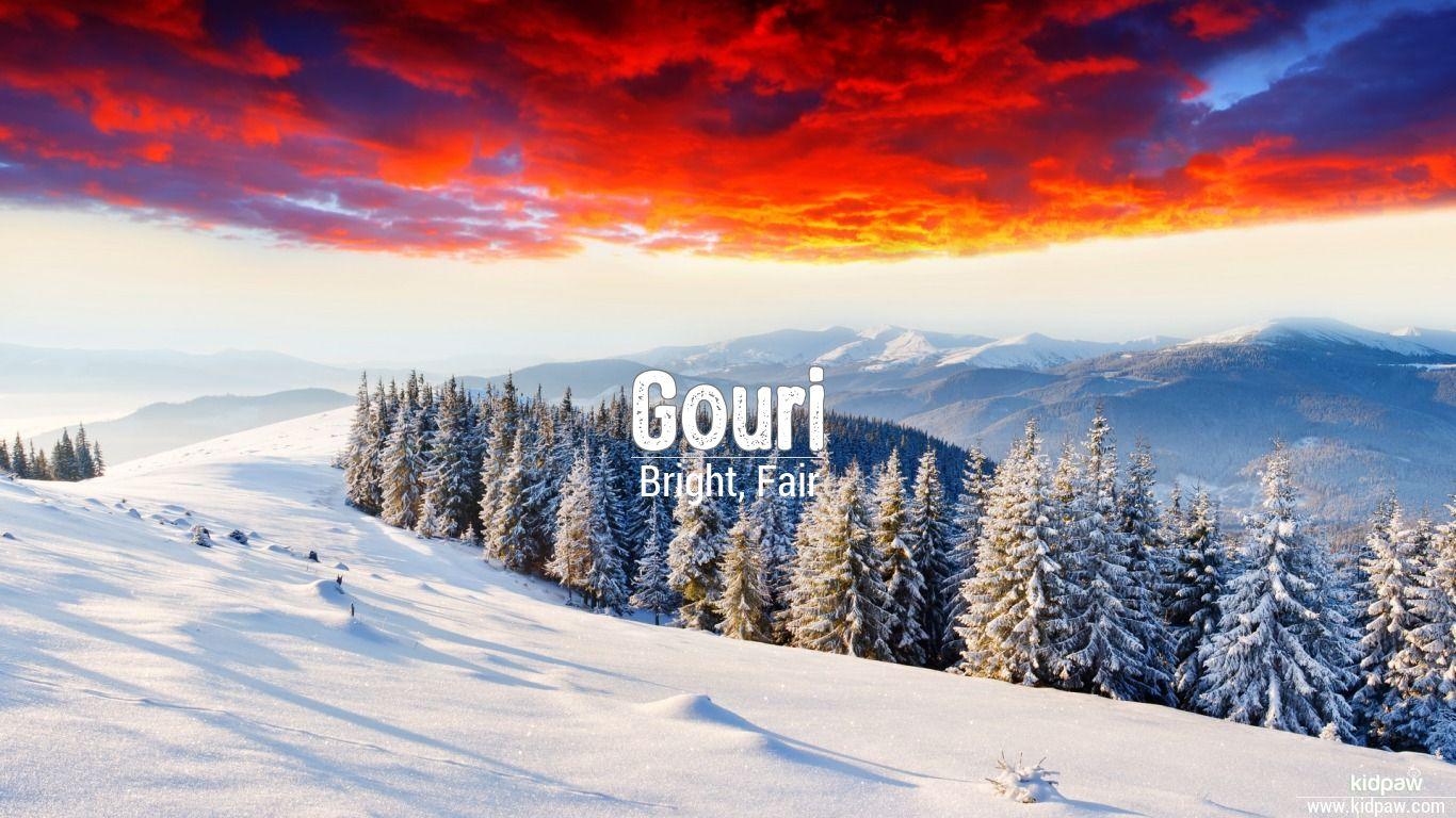 Gouri 3D Name Wallpaper for Mobile ...