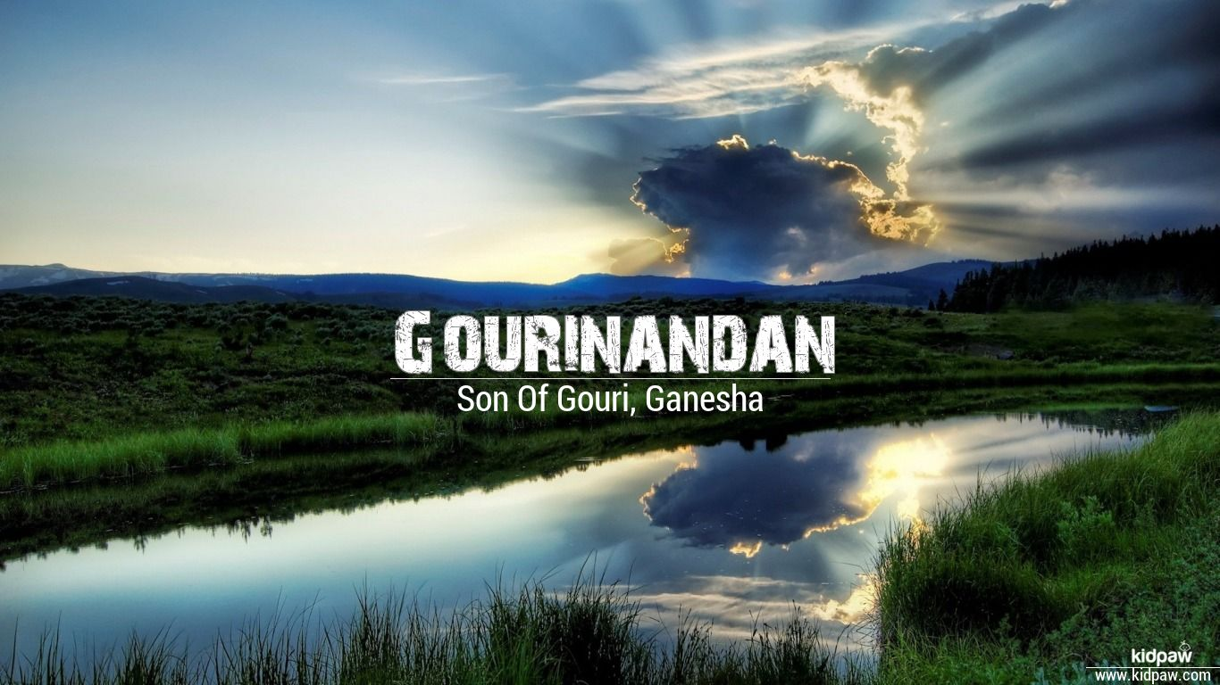 Gourinandan 3D Name Wallpaper for ...