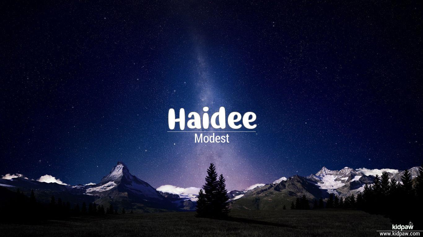 Haidee beautiful wallper