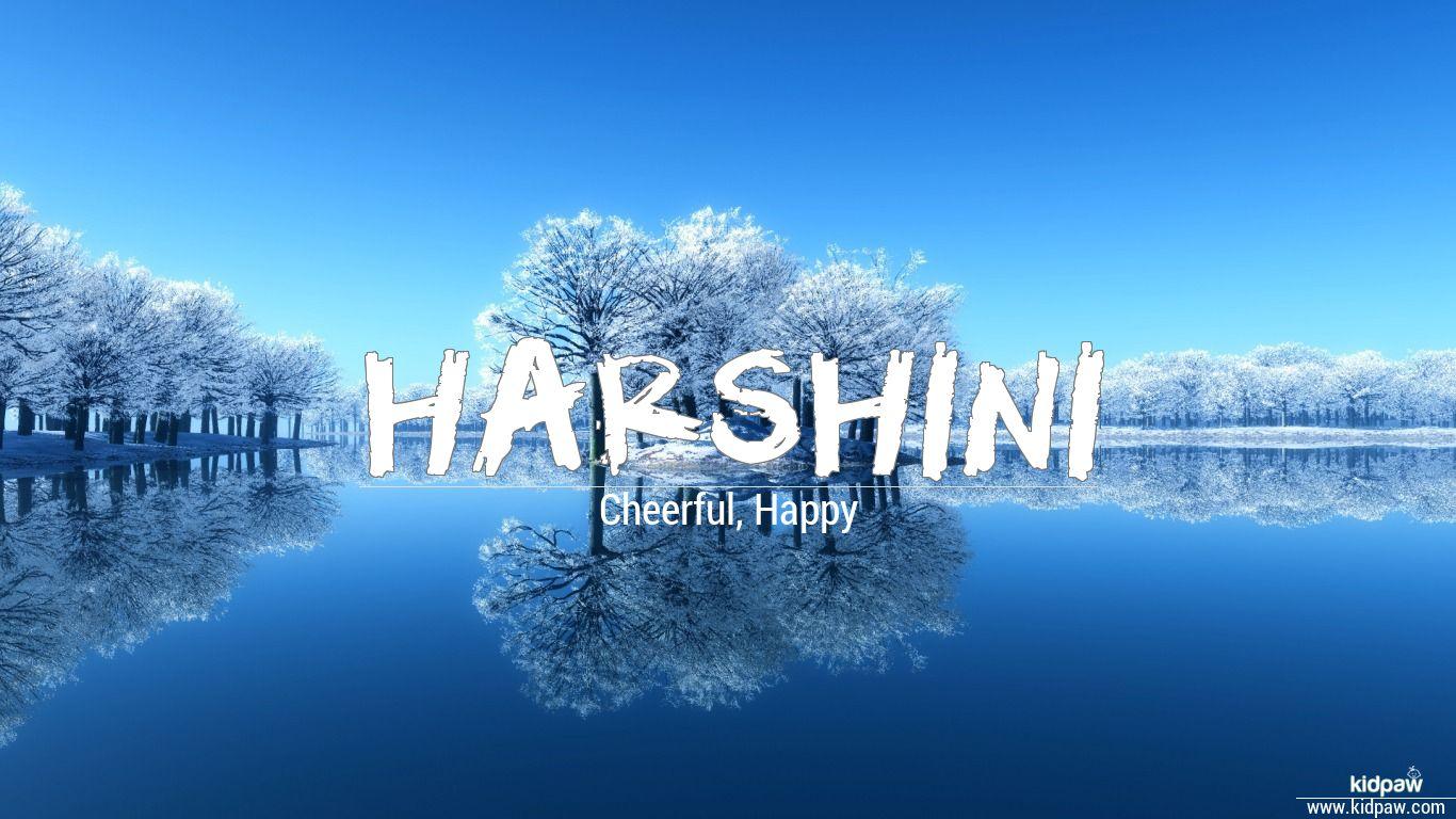 with name harshini