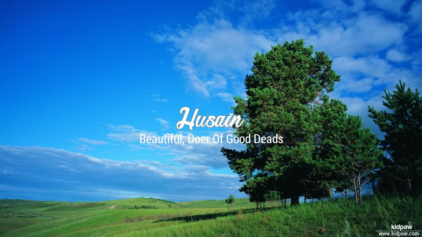 Husain beautiful wallper