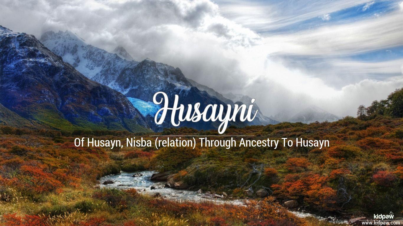Husayni beautiful wallper