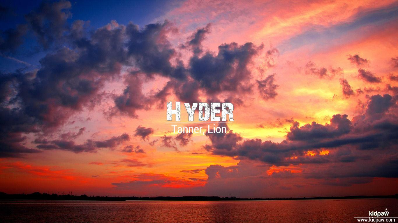 Hyder beautiful wallper
