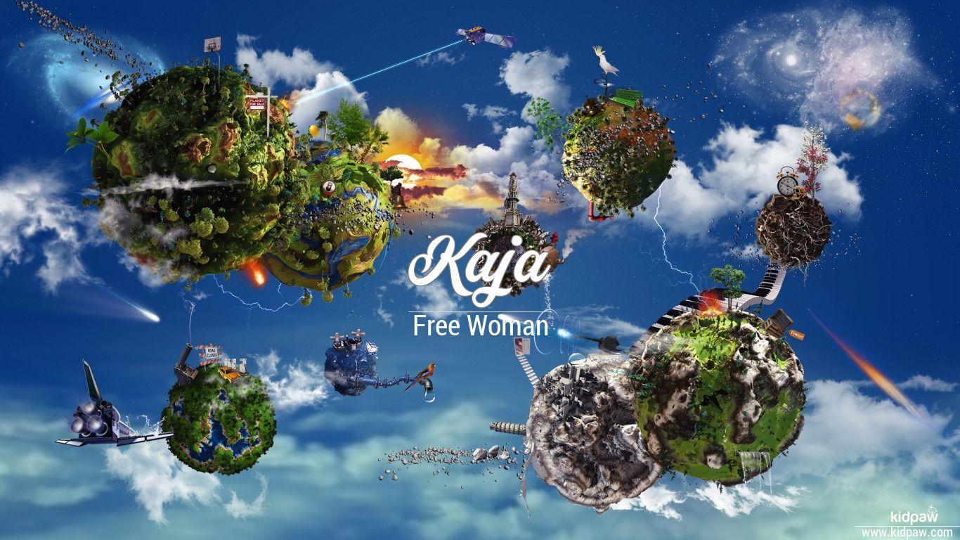 Kaja 3d Name Wallpaper For Mobile Write Name On Photo Online