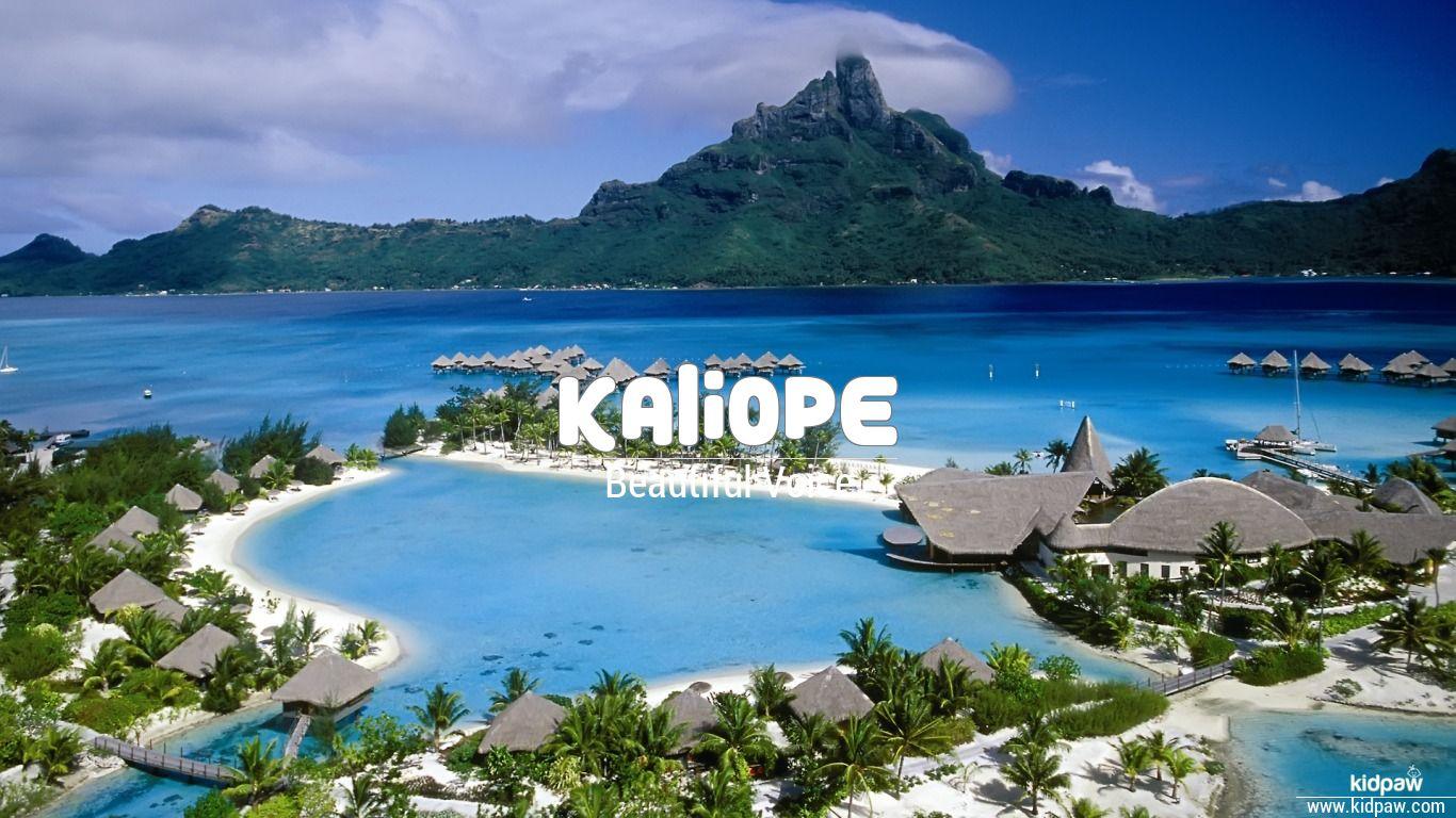 Kaliope beautiful wallper