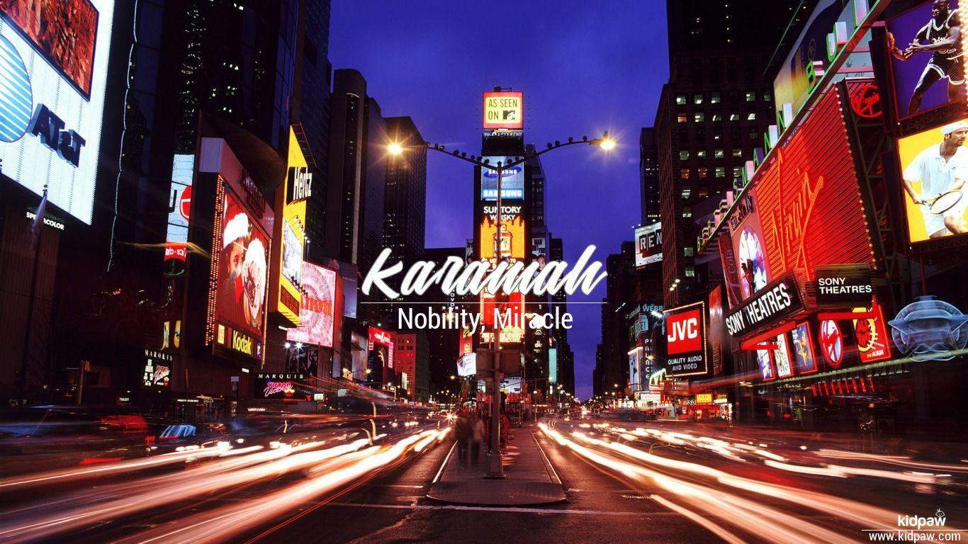 Karamah beautiful wallper