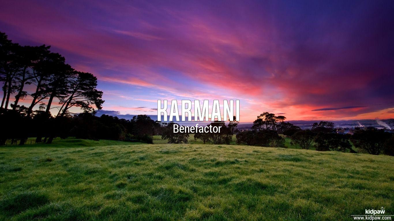 Karmani beautiful wallper