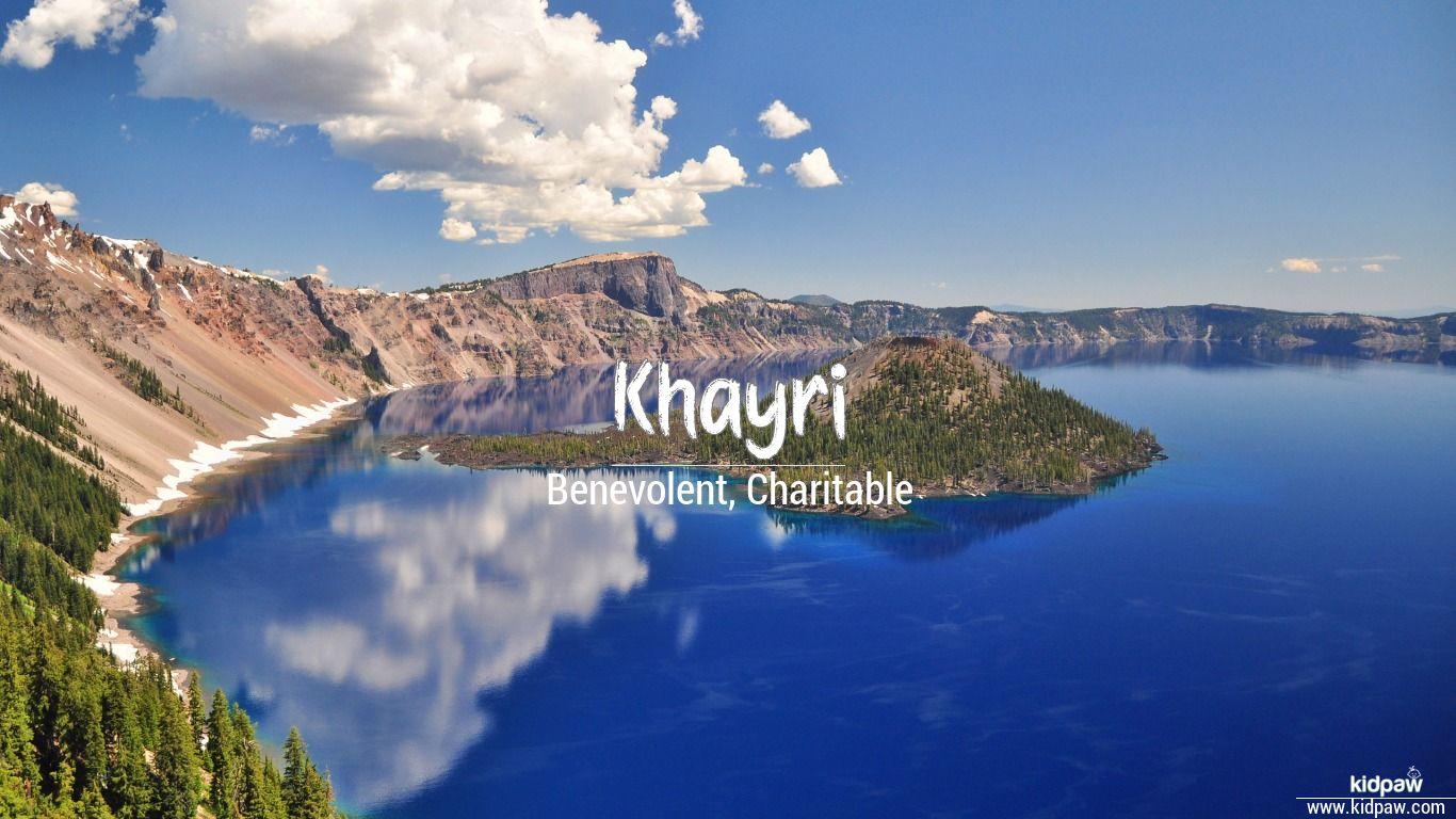 Khayri beautiful wallper