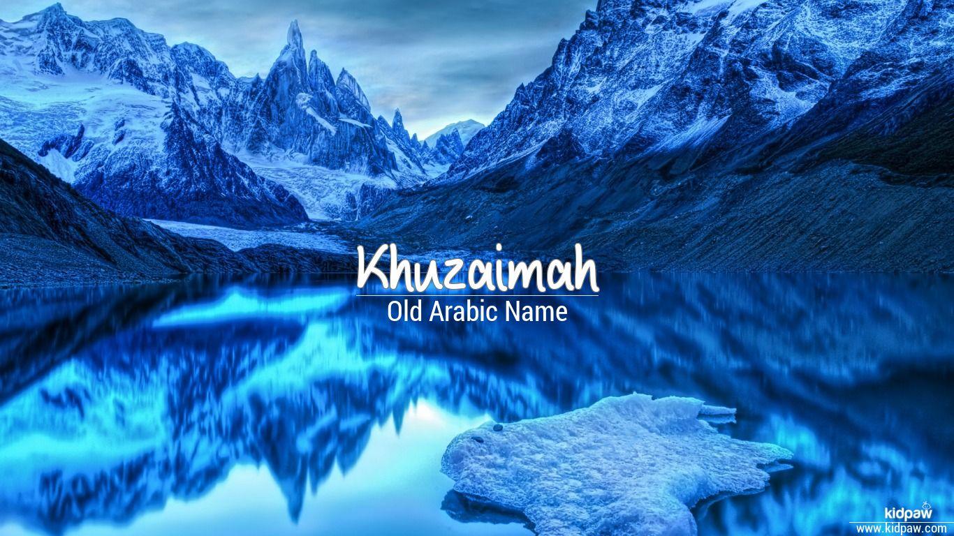 Khuzaimah beautiful wallper