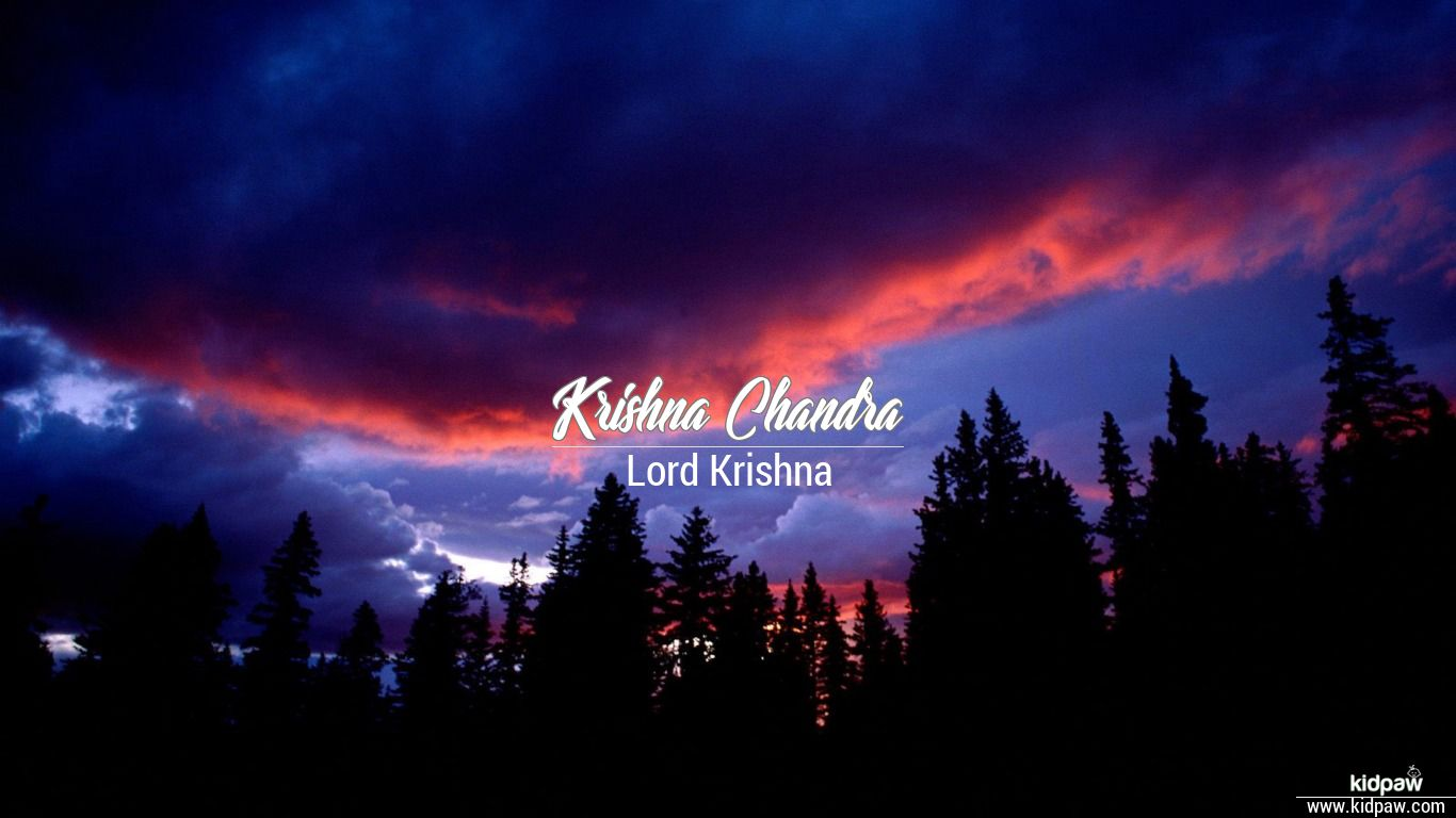 Krishna Chandra beautiful wallper