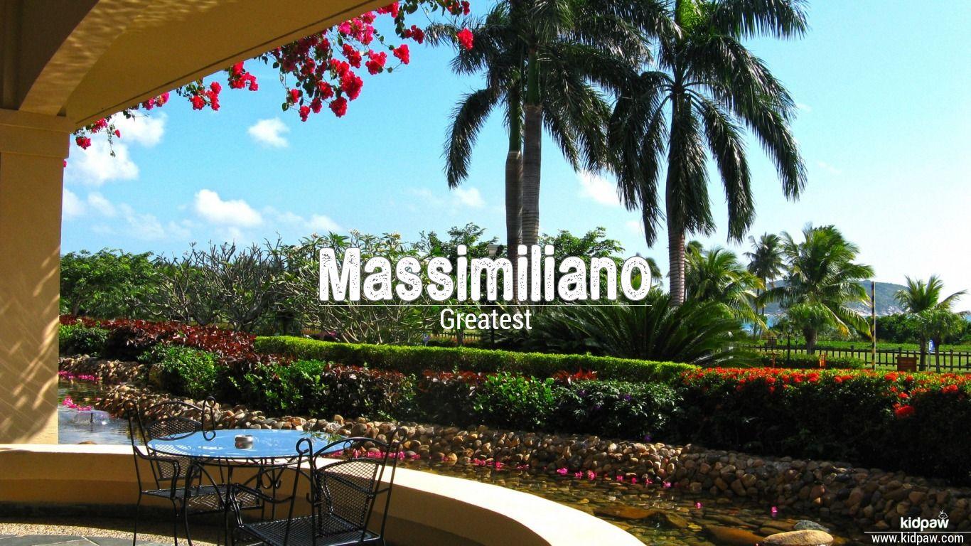 Massimiliano beautiful wallper