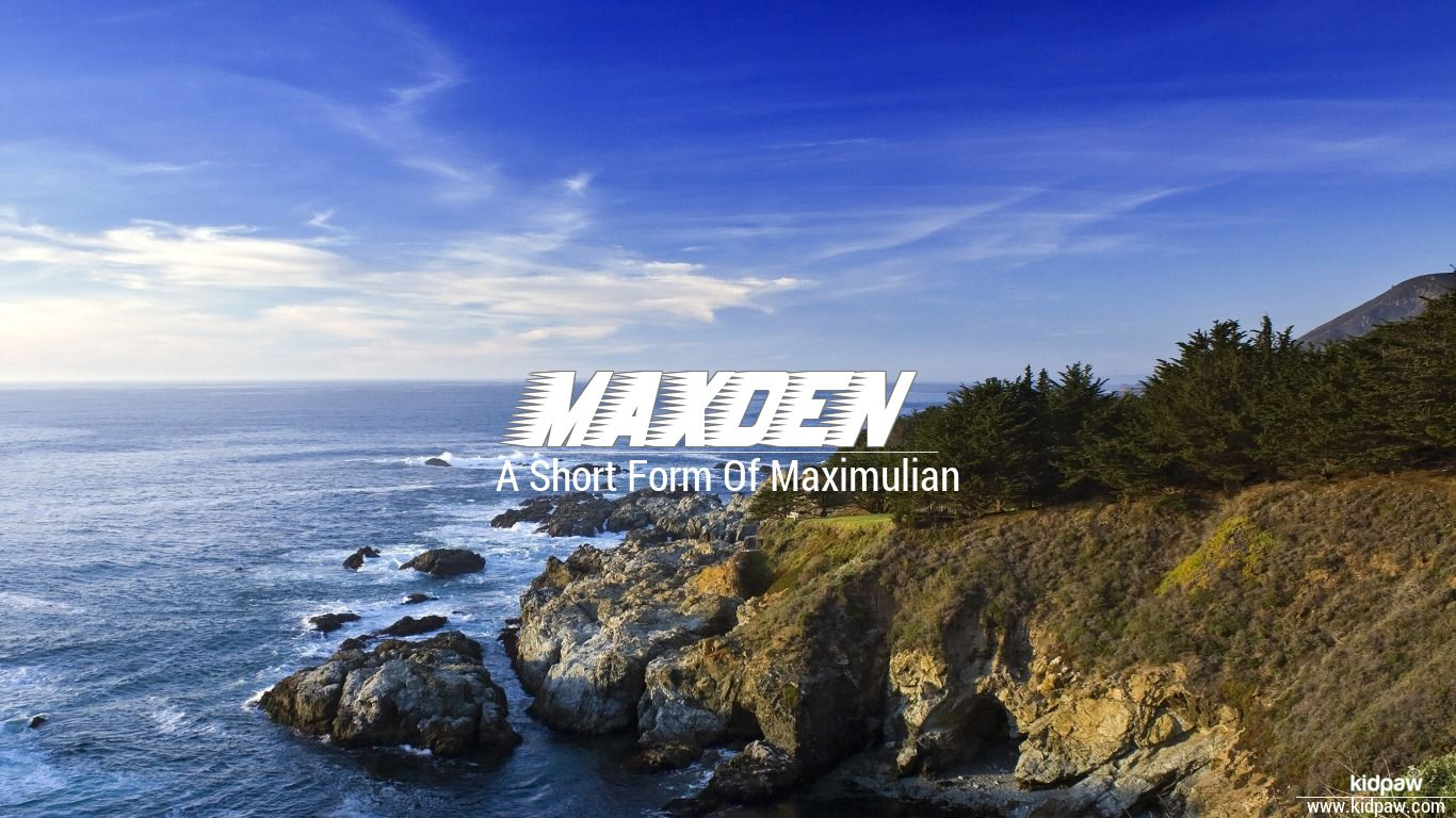 Maxden beautiful wallper