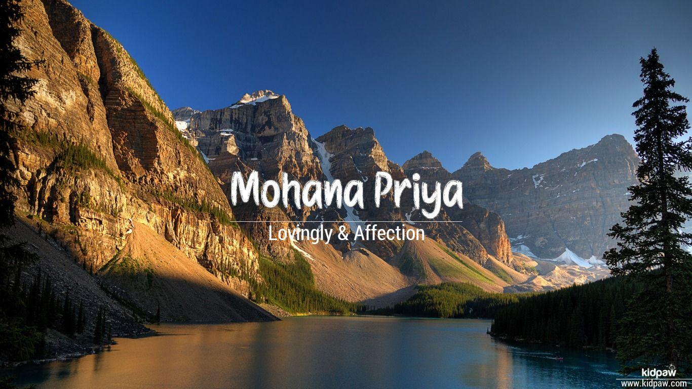 Mohana Priya beautiful wallper