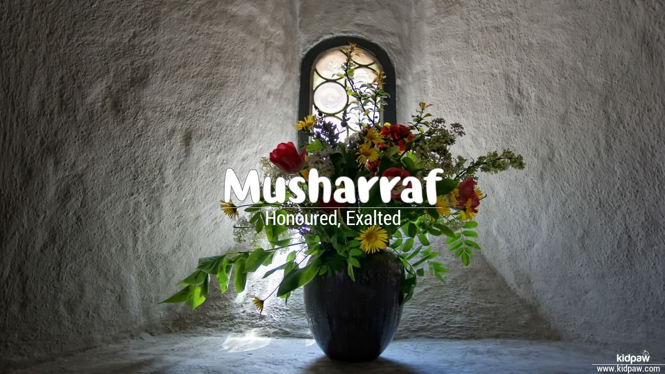 musharraf name