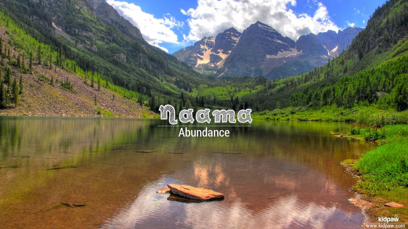 Naama beautiful wallper