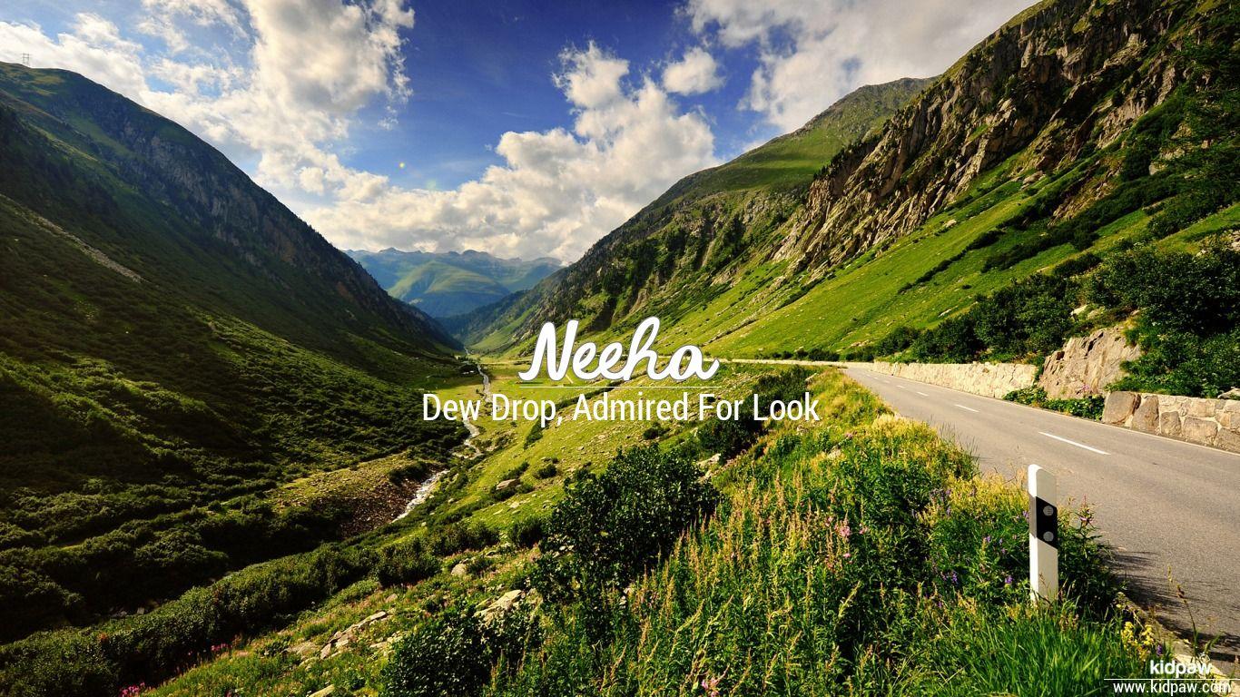 Neeha beautiful wallper