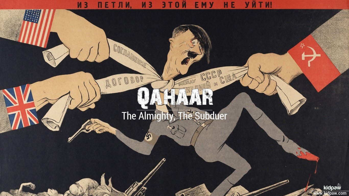 Qahaar beautiful wallper