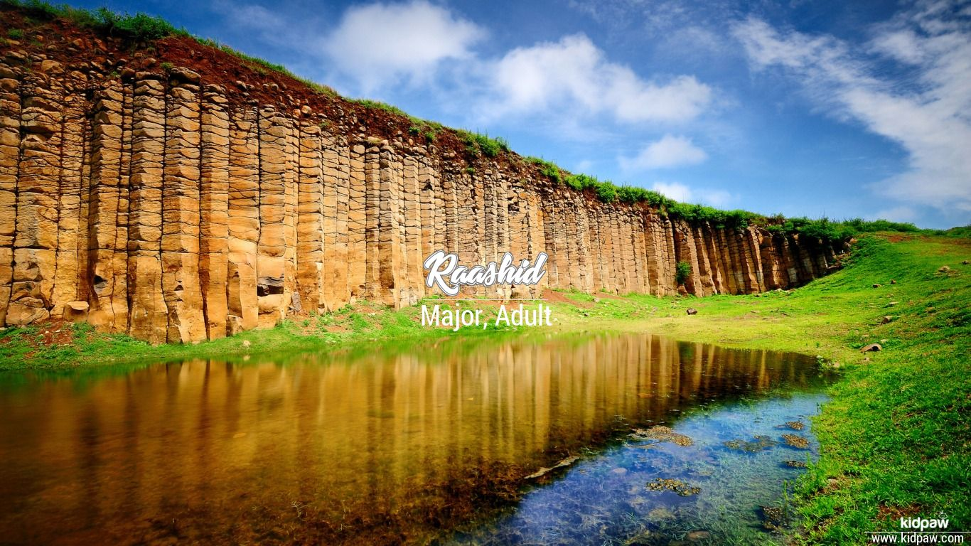 Raashid beautiful wallper