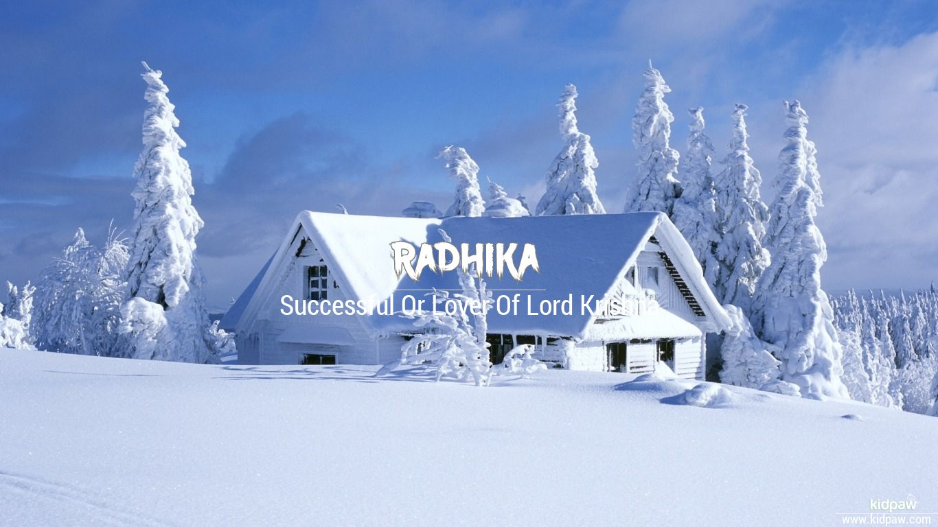 रधक Radhika Name Meanings In Hindi English Baby Names
