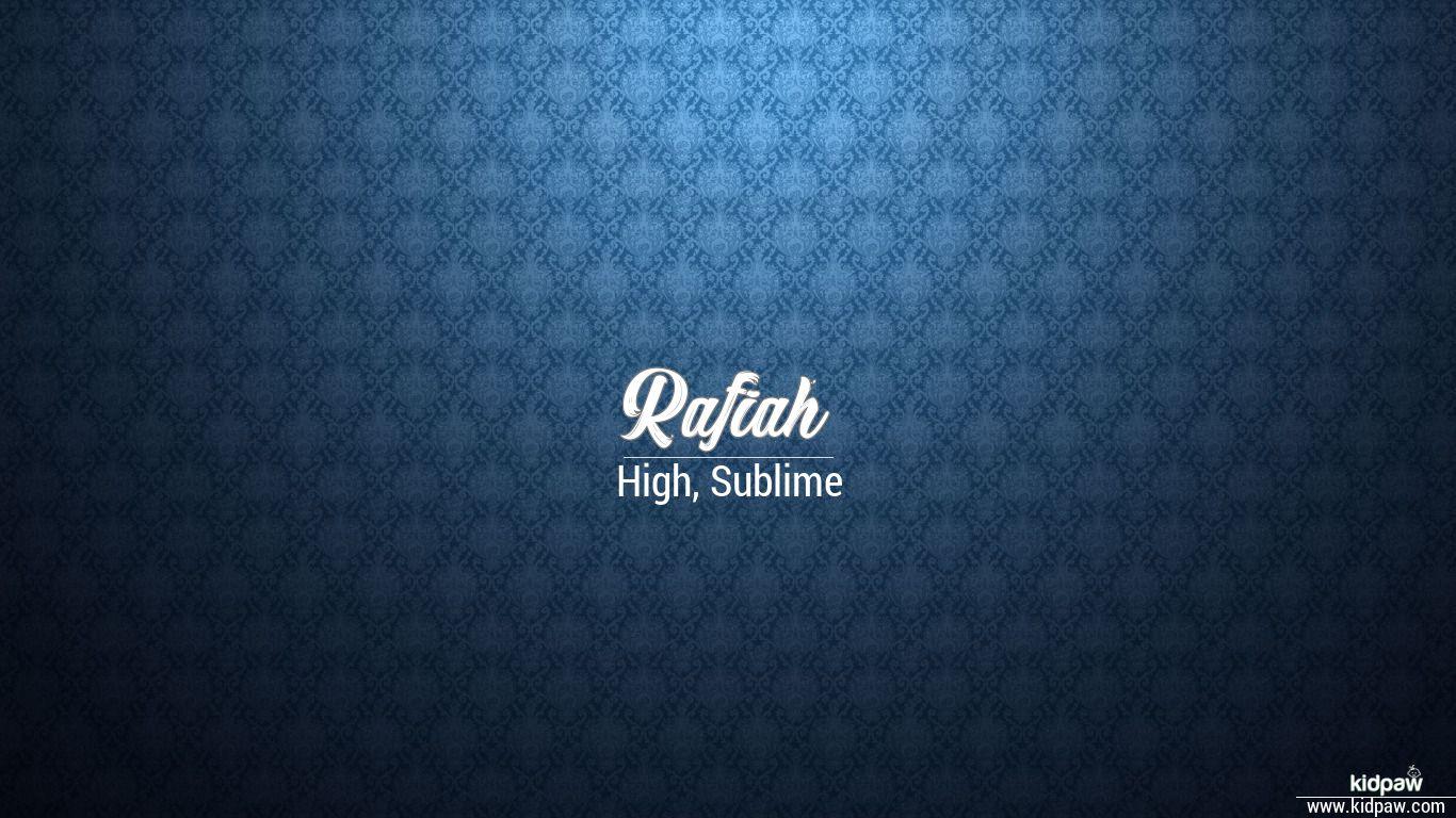 Rafiah beautiful wallper