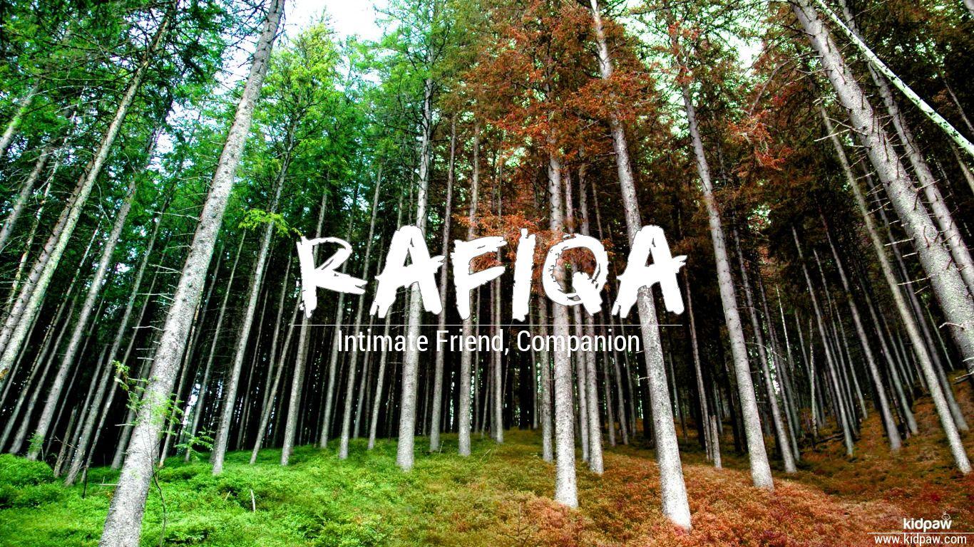 Rafiqa beautiful wallper