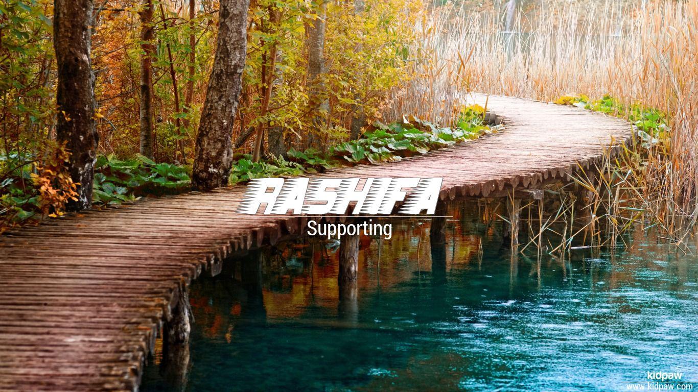 Rashifa beautiful wallper