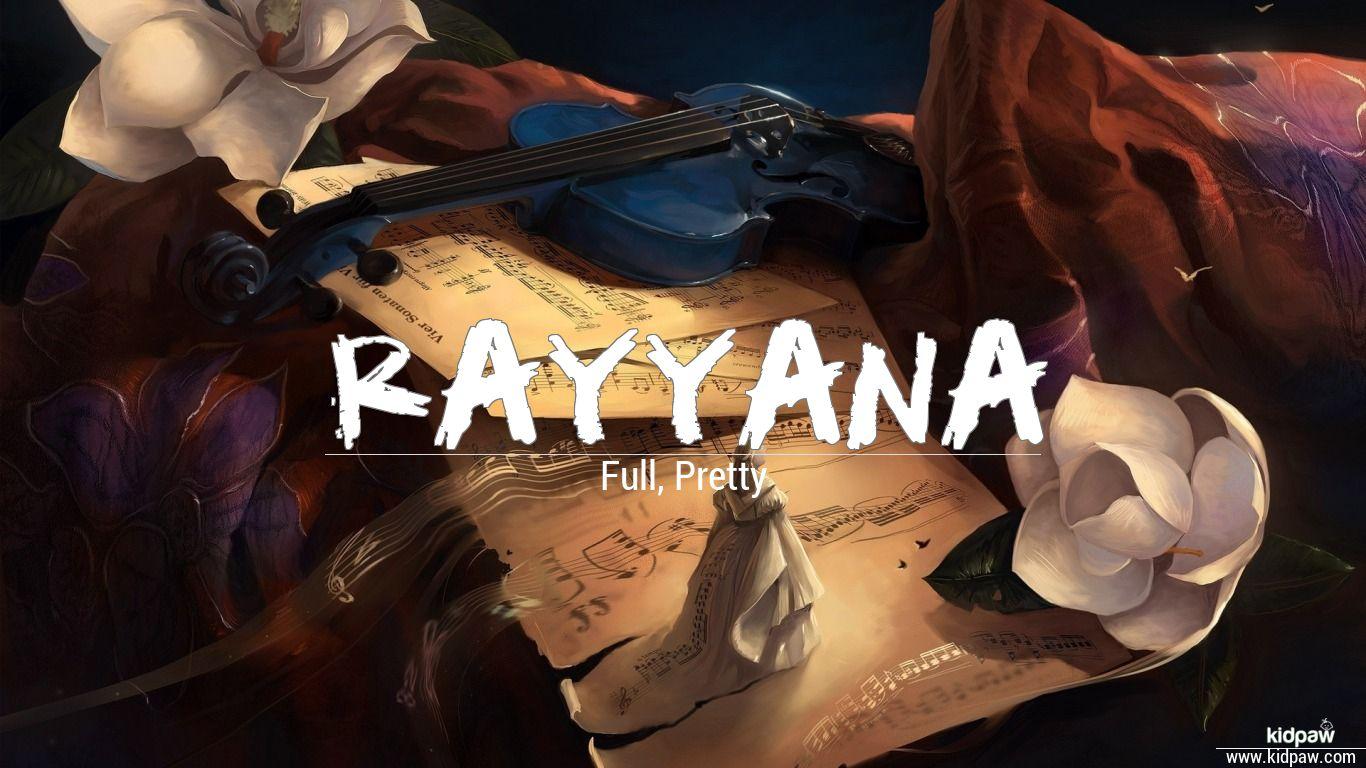 Rayyana beautiful wallper