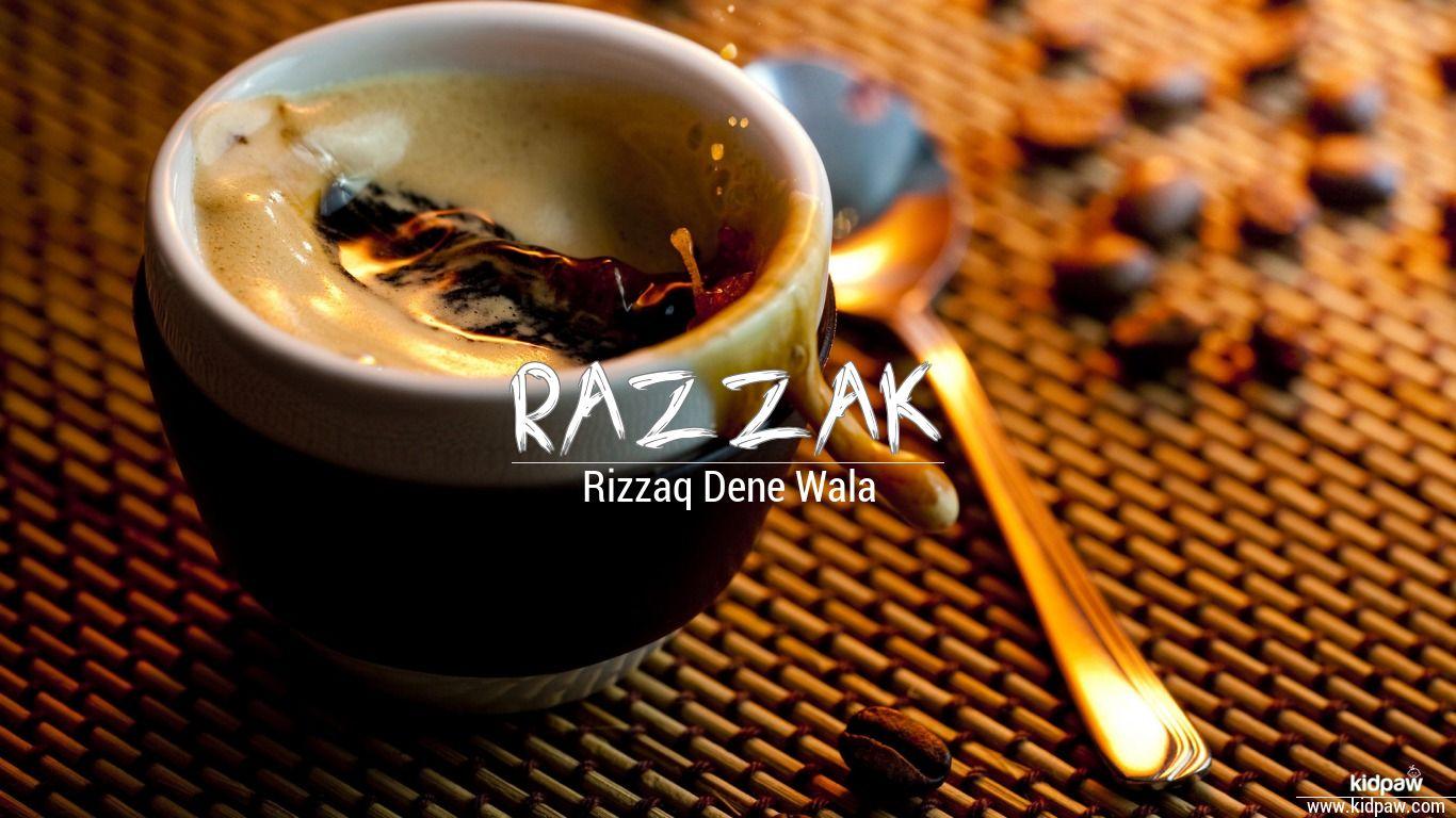 رزاق   Razzak Name Meaning in Urdu, Arabic names for Boys