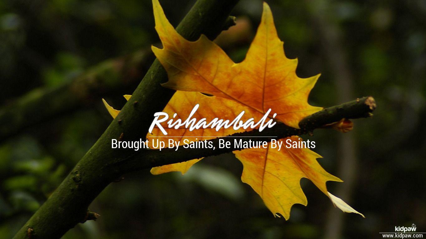 Rishambali beautiful wallper