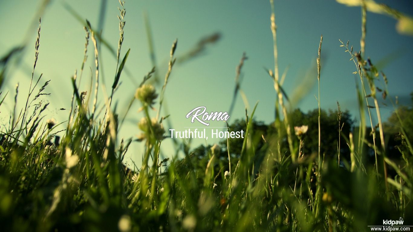 روما | Roma Name Meaning in Urdu, Arabic names for Girls