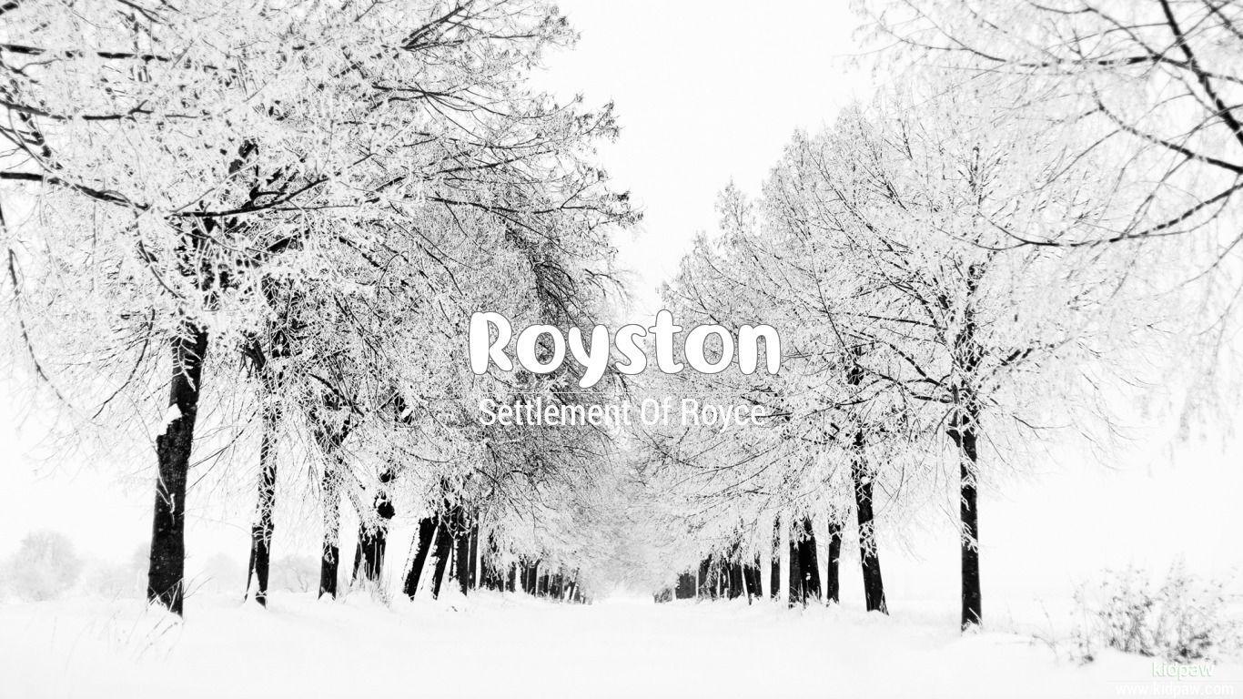 Royston beautiful wallper