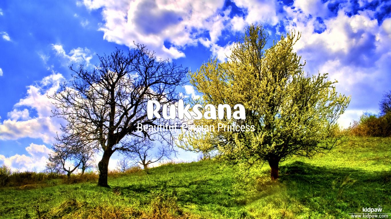 Ruksana beautiful wallper