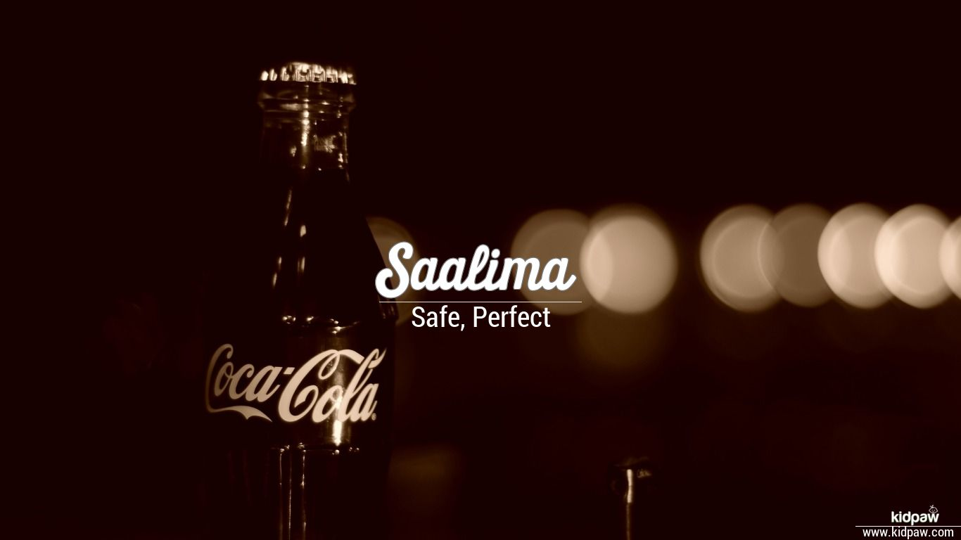 Saalima beautiful wallper