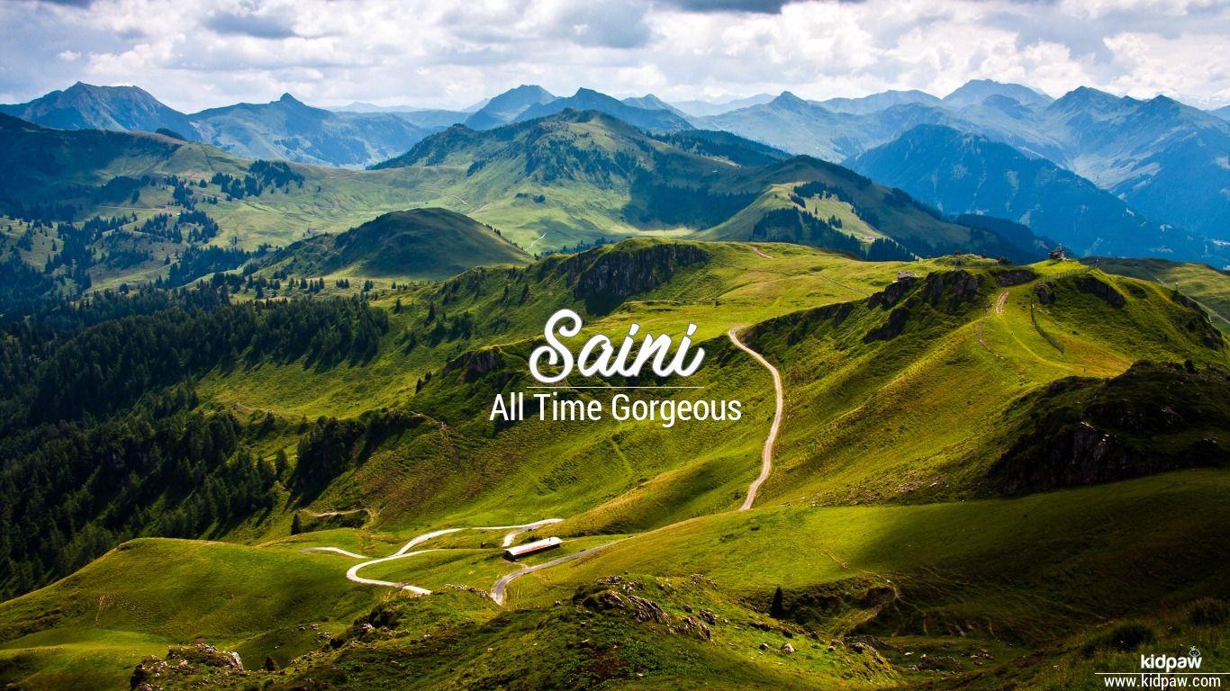 Saini 3d Name Wallpaper For Mobile Write स न Name On