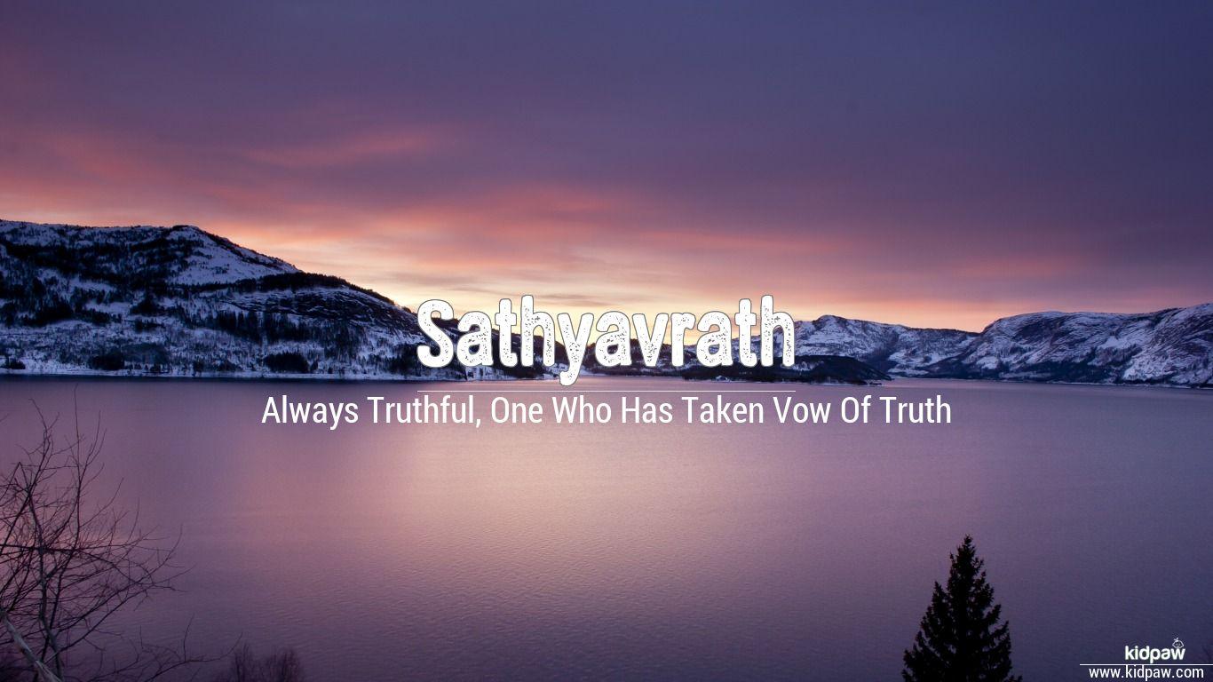 Sathyavrath beautiful wallper