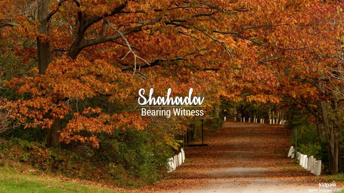 shahada name