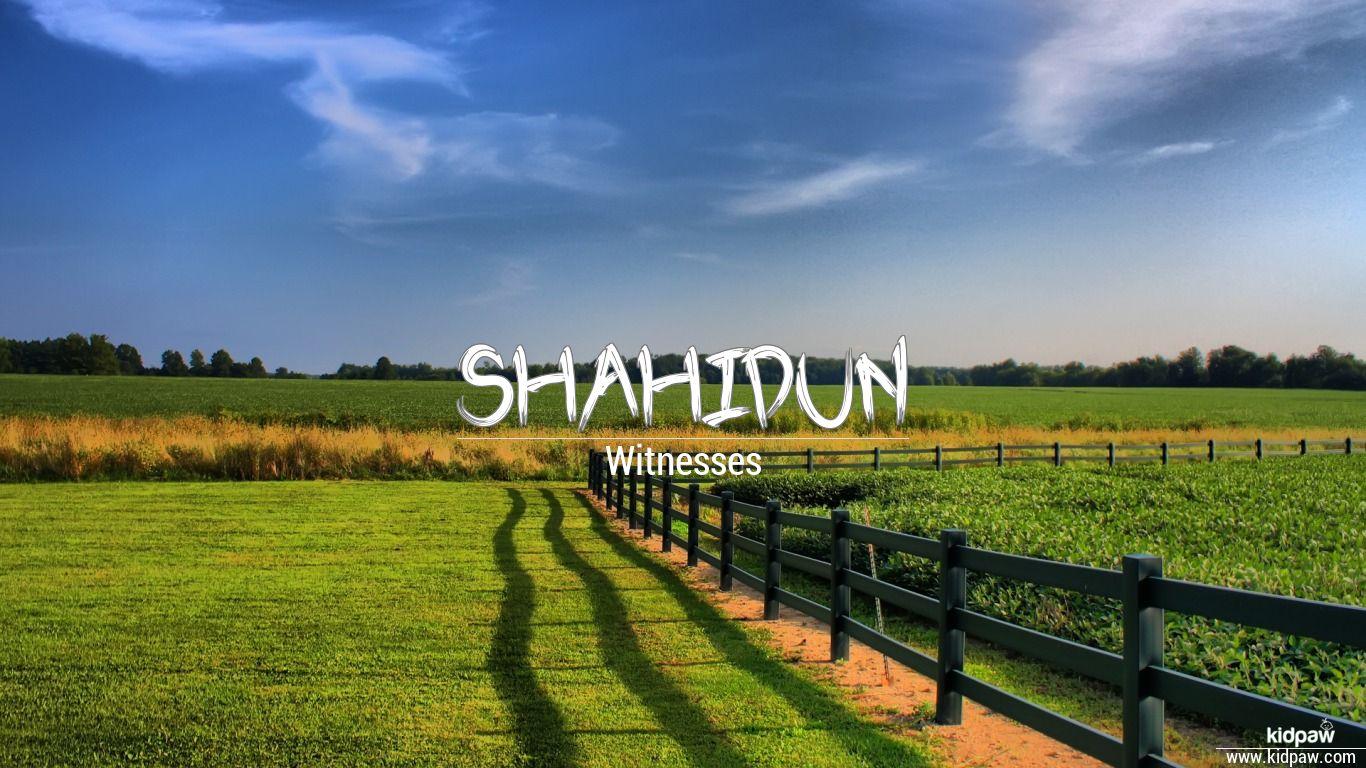 Shahidun beautiful wallper