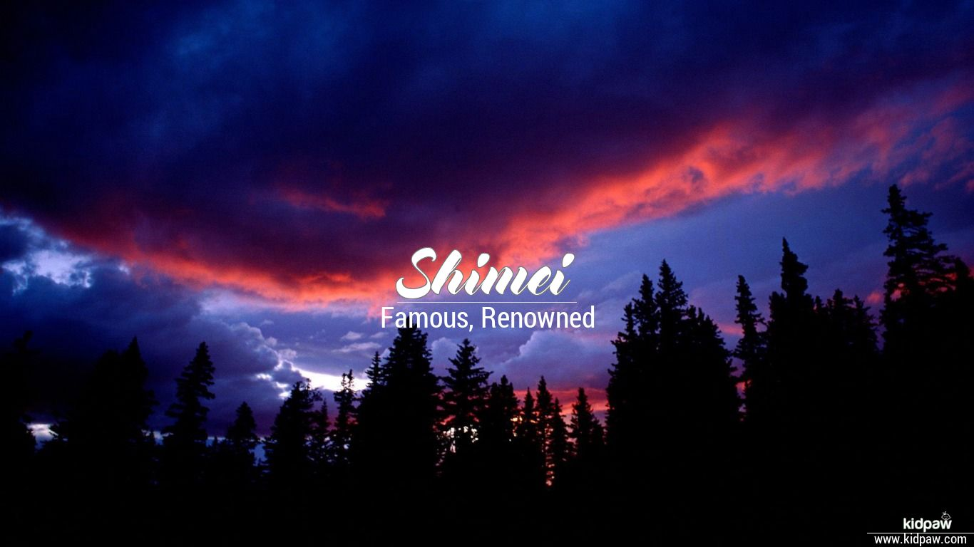 Shimei beautiful wallper