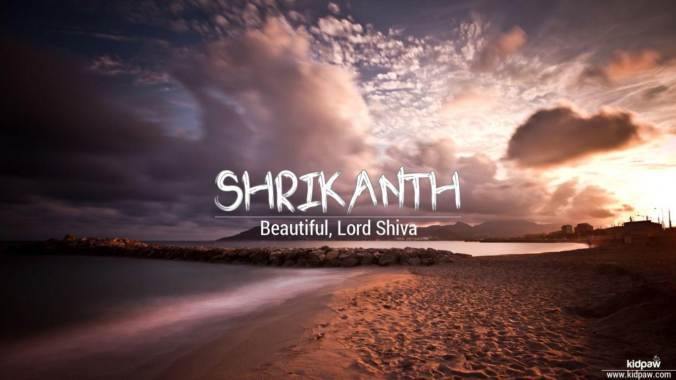 Shrikanth beautiful wallper