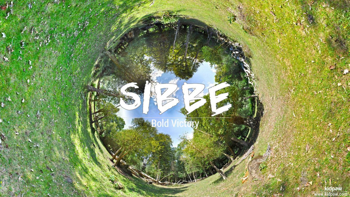Sibbe beautiful wallper