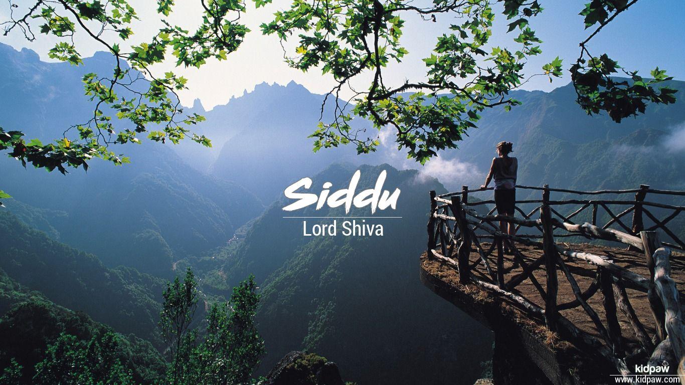 siddu name