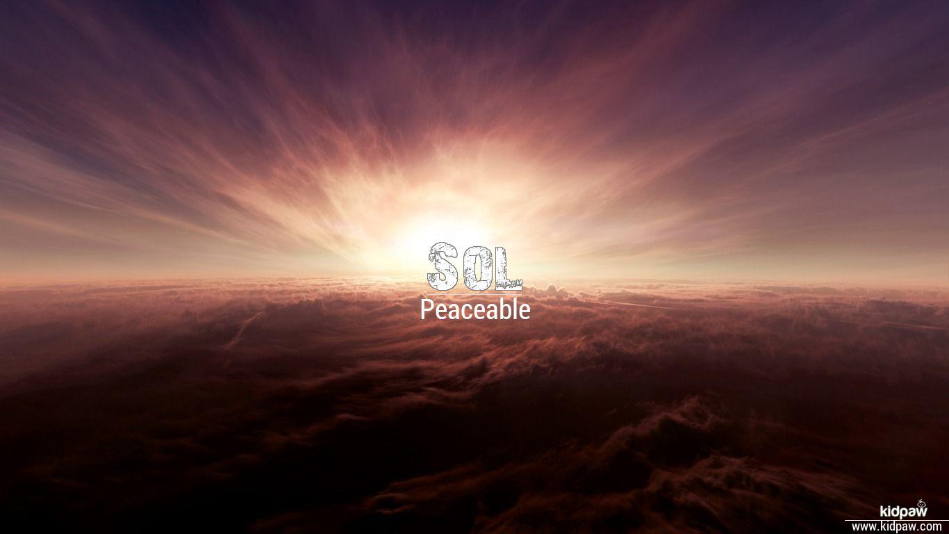 Sol beautiful wallper