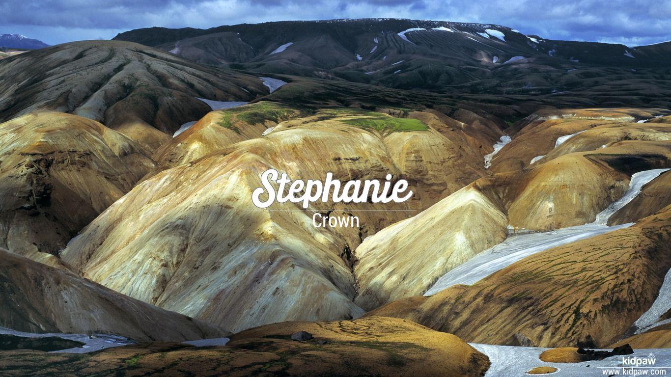 Stephanie beautiful wallper